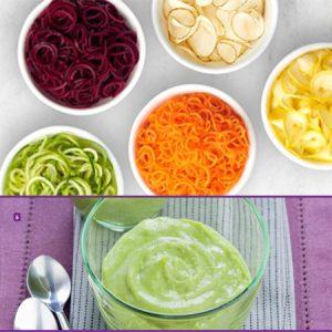 2 In 1: Cutter Mixer & Vegetable Slicer